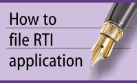 How to file a RTI application